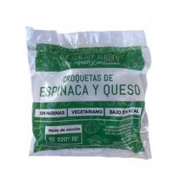 """Croqueta de Espinaca y queso """"The healthy kitchen"""" x 300 grs."""