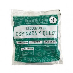 "Croqueta de Espinaca y queso ""The healthy kitchen"" x 300 grs."