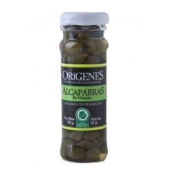 """Alcaparras orgánicas en vinagre """"Origenes"""" x 65 grs."""
