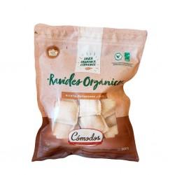 Ravioles Orgánicos de Ricota, Parmesano y Nuez x 500gr