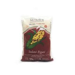 Penne Rigati de harina de maiz non GMO x500 grs.