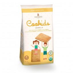 """Cookids orgánicas """"Cachafaz"""" sabor Vainilla x 200 grs"""