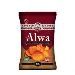 """Chips de papas rurales """"Alwa"""" x 90 grs."""