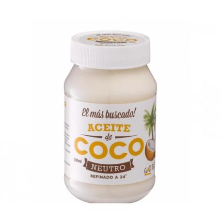 Aceite de Coco Neutro God Bless you x 500 ml