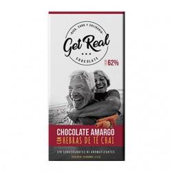 "Chocolate Amargo sin azucar ""Cacao 80%"" x 70 grs."