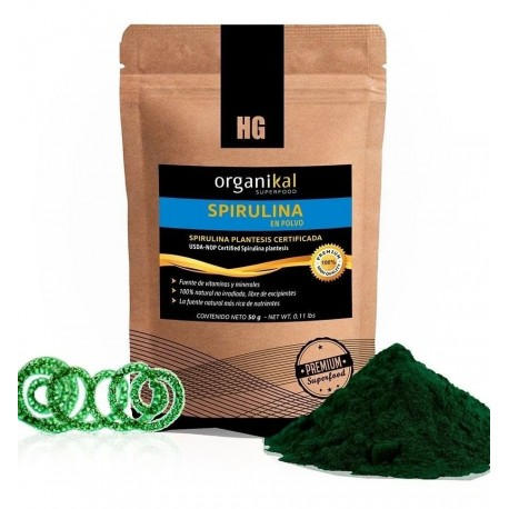 Organikal Superfood Spirulina 50 grs.
